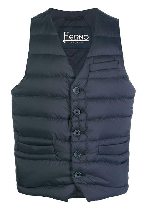 Blue gilet HERNO   PI002ULE192889225