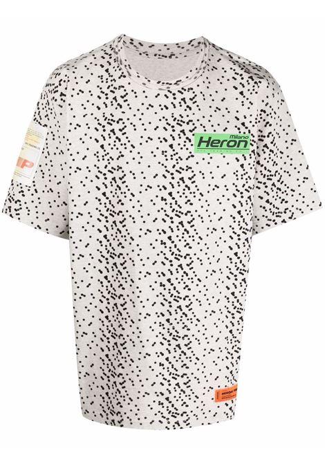 Grey t-shirt HERON PRESTON | HMAA026F21JER0030855