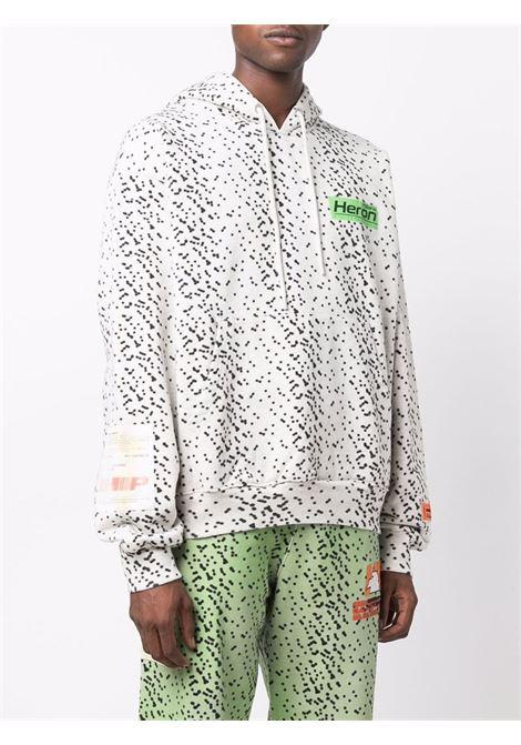 White sweatshirt HERON PRESTON | HMBB017F21JER0050855