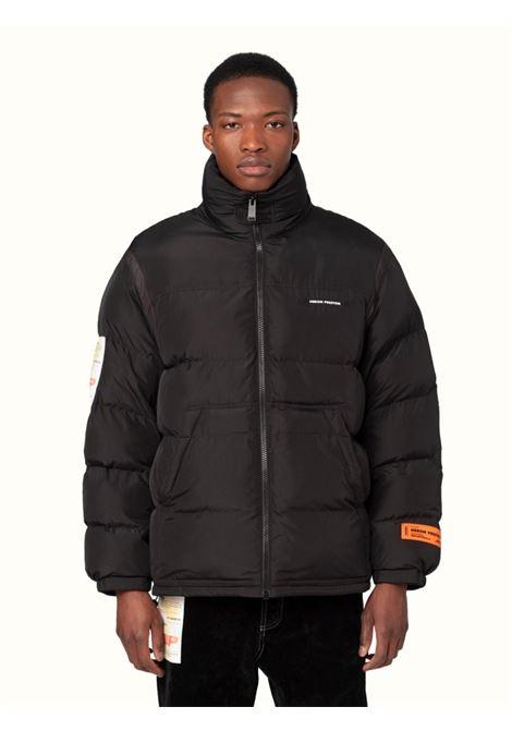 Black padded jacket HERON PRESTON | HMED008F21FAB0011000