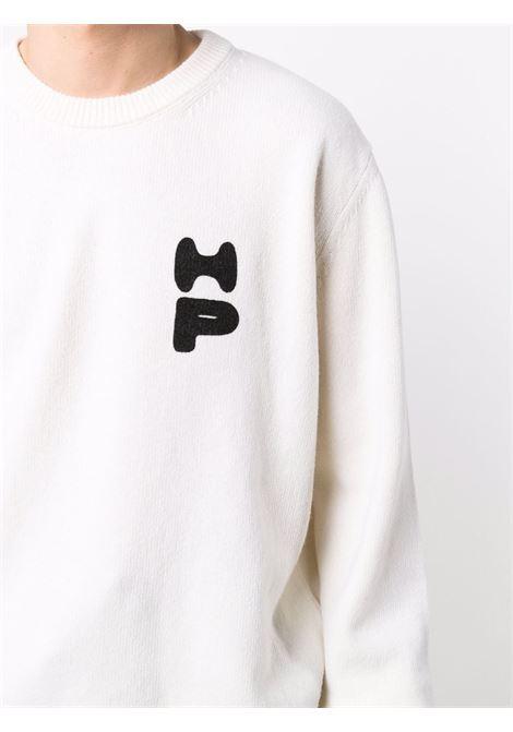 White sweatshirt HERON PRESTON | HMHE006F21KNI0010410