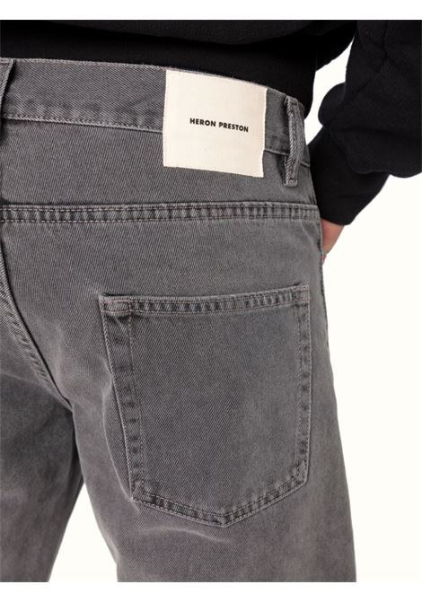 Grey jeans HERON PRESTON | HMYA015F21DEN0011000