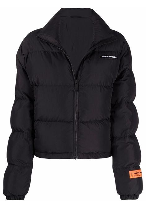 Black padded jacket HERON PRESTON | HWED004F21FAB0011001