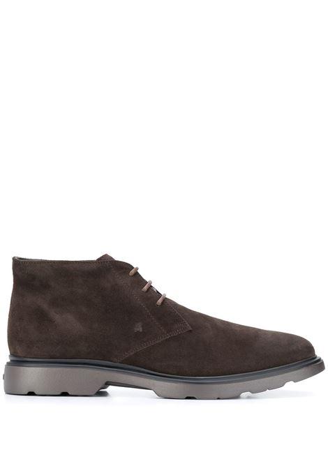 Brown boots HOGAN | HXM3930W352HG09999