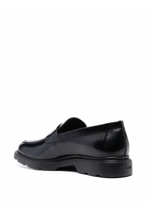 Black loafers HOGAN | HXM3930X2307J7B999