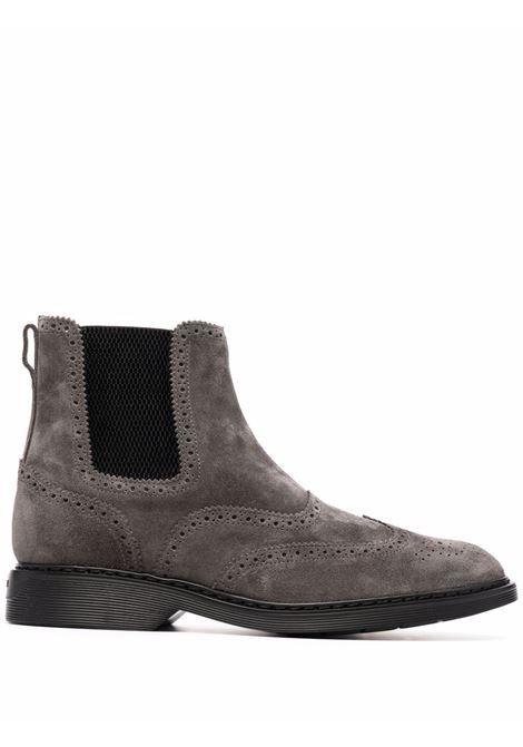 Grey boots HOGAN | HXM5760DT40HG0B804