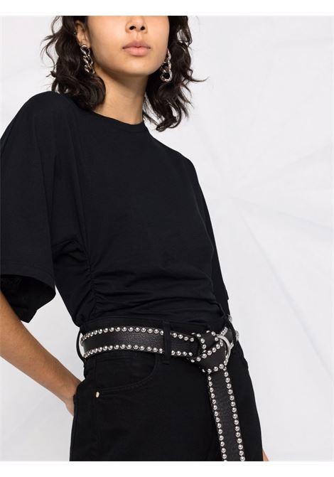T-shirt nera IRO   T-SHIRT   WM19HOLLABLA01