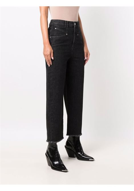Jeans nero ISABEL MARANT | JEANS | PA200221A017I02FK