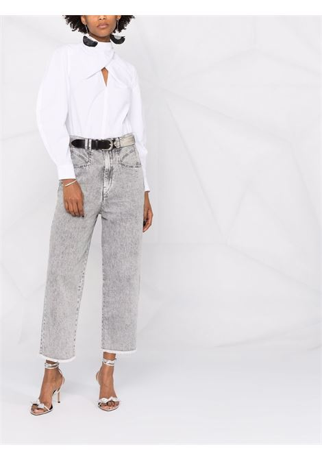 Jeans grigio ISABEL MARANT | JEANS | PA200221A017I02LY