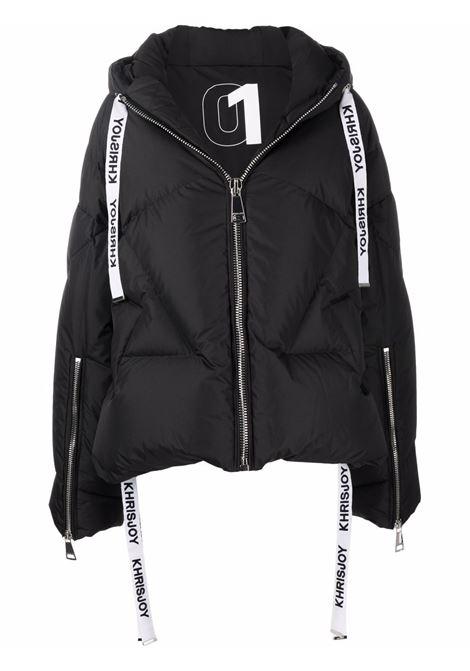 Black padded jacket KHRISJOY | AFPW001NYBK01