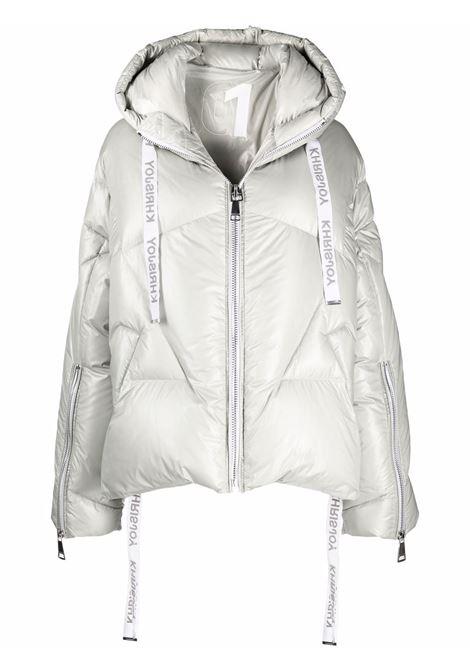 Silver padded jacket KHRISJOY | AFPW001NYLSV272