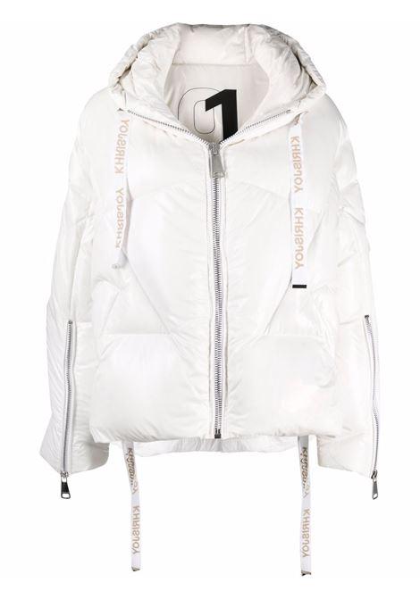 White padded jacket KHRISJOY | AFPW001NYLWH03