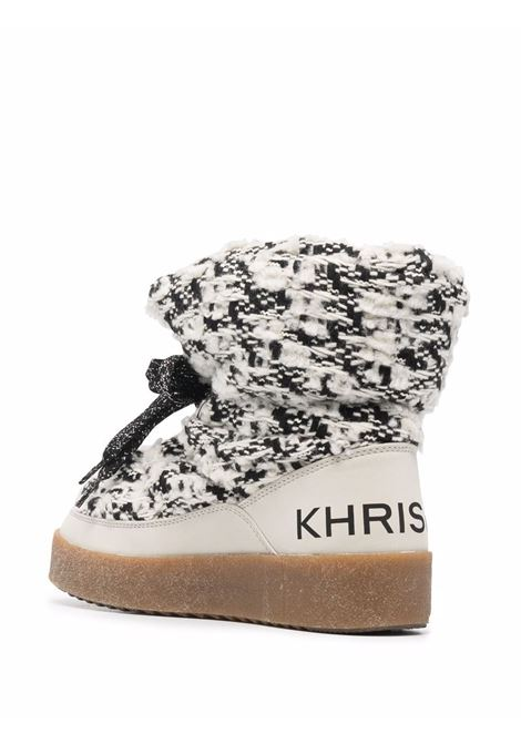Black/white boots KHRISJOY | CFMW100TW2CMB02