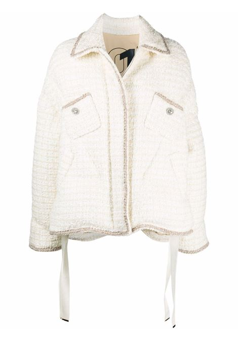 White padded jacket KHRISJOY | CFPW015TW12CMB12