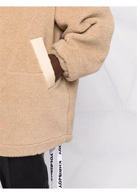 Beige coat KHRISJOY | CFPW025PILEBG65