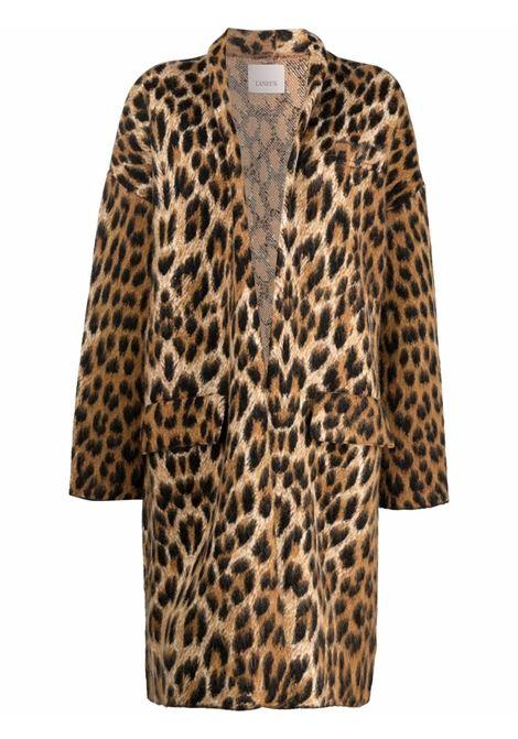 Leopard coat LANEUS | CPD1203VAR