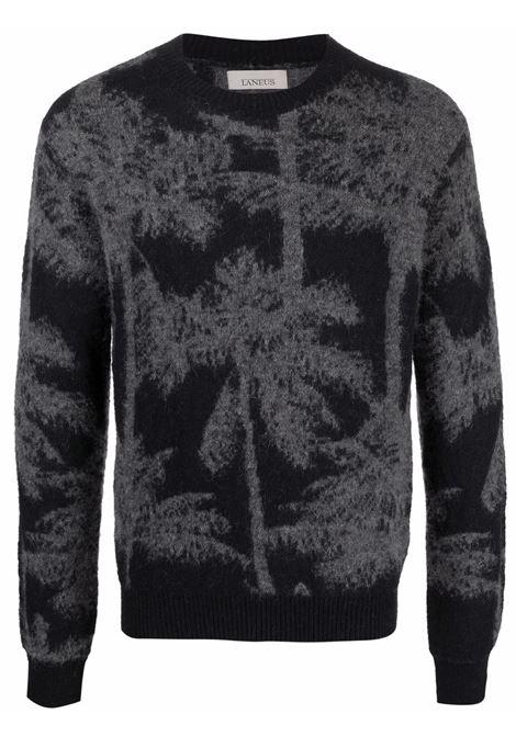 Maglione nero/grigio LANEUS | MGU1021VAR1