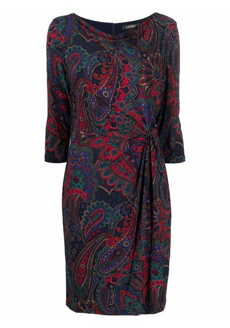 Red/blue dress LAUREN RALPH LAUREN | 250842358001