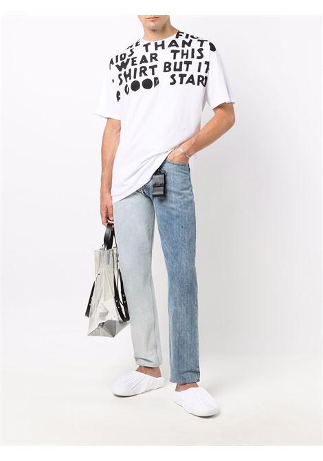White t-shirt MAISON MARGIELA | T-SHIRT | S50GC0663S22816989