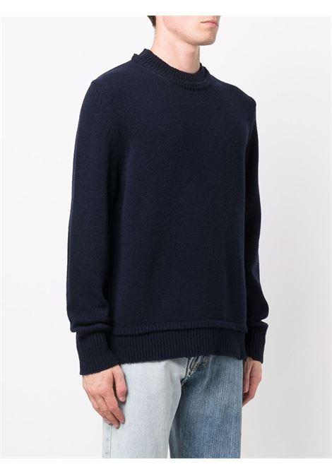 Blue jumper MAISON MARGIELA | SWEATER | S50GP0243S17785511