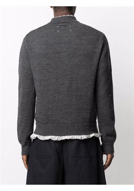 Grey jumper MAISON MARGIELA | SWEATER | S50HA1006S17784860