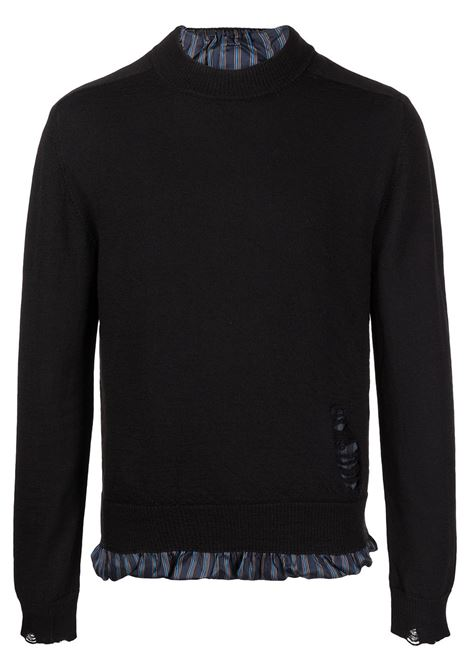Black jumper MAISON MARGIELA | SWEATER | S50HA1006S17797855