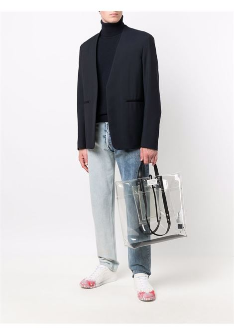 Blue jumper MAISON MARGIELA | PULLOVER | S50HA1012S17783511
