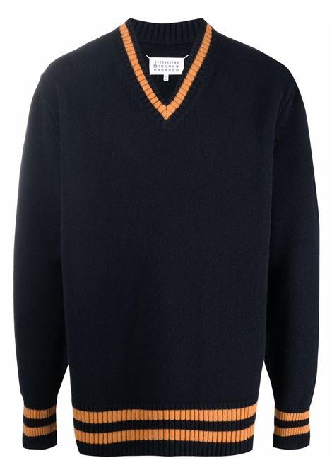 Black/orange jumper MAISON MARGIELA | S50HA1027S17834511F