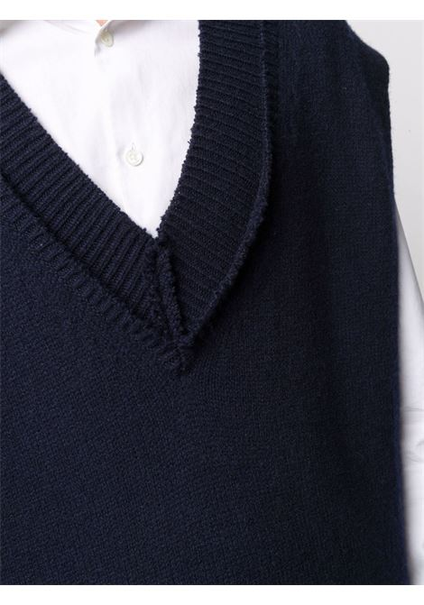 Blue pullover MAISON MARGIELA | PULLOVER | S50TH0050S17785511