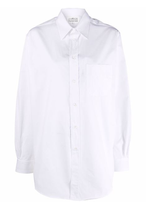 Camicia bianca MAISON MARGIELA   S51DL0374S52245100