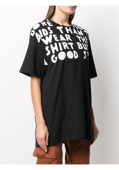 T-shirt nera MAISON MARGIELA   T-SHIRT   S51GC0427S22816900