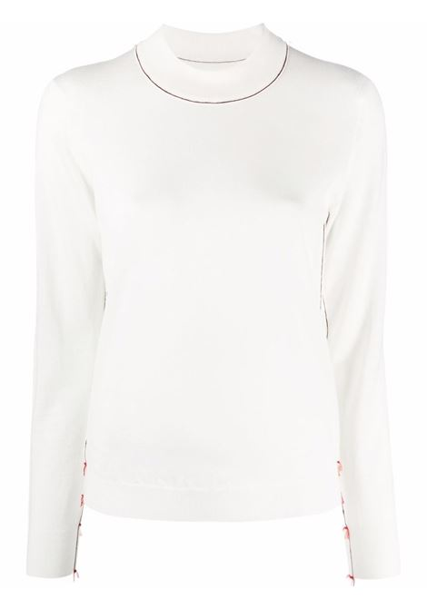 White jumper MAISON MARGIELA | SWEATER | S51HA1148S17814103F