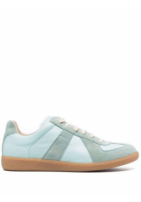 Aqua green sneakers MAISON MARGIELA | S57WS0236P1895H8864
