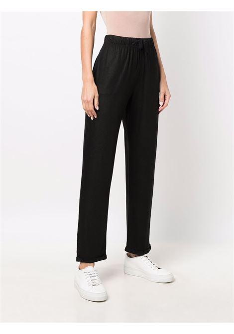 Pantalone nero MAJESTIC   H21M014FPA023723