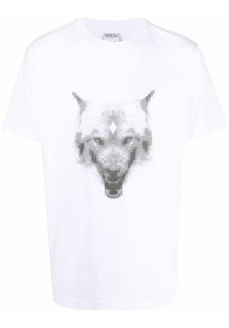 T-shirt bianca MARCELO BURLON | CMAA018F21JER0130109