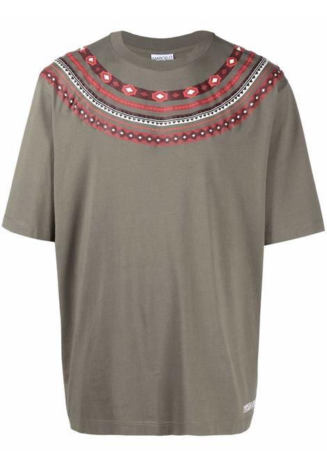 T-shirt verde/rosso MARCELO BURLON | CMAA054F21JER0025627