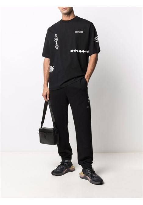 T-shirt nera MARCELO BURLON | CMAA054F21JER0031001