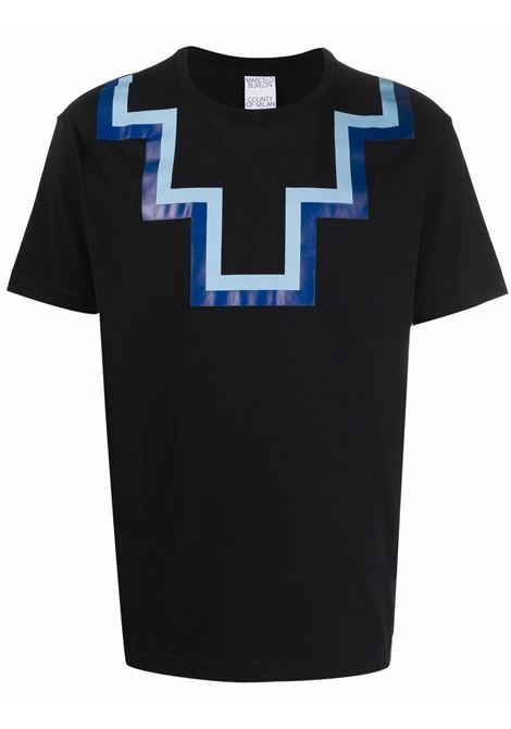 T-shirt nera MARCELO BURLON | CMAA075F21JER0011045