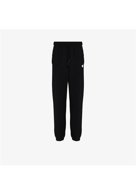 Pantalone nero MARCELO BURLON | CMCH024F21FLE0011001