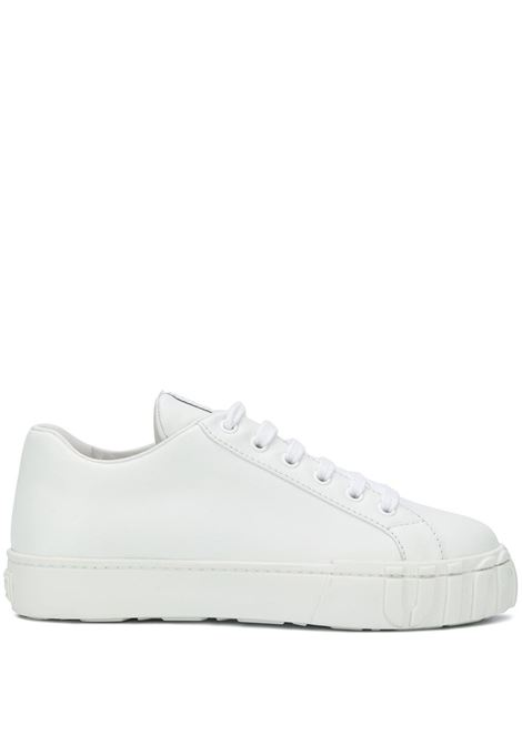 White sneakers MIU MIU | 5E187DF0053AQNF0009