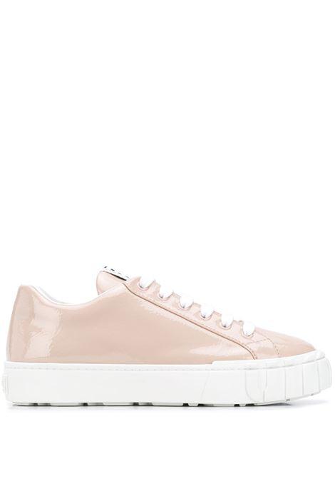 Pink sneakers MIU MIU | 5E187DF0053LBNF0236
