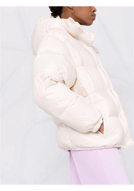 White padded jacket MIU MIU | ML734HU7F0304