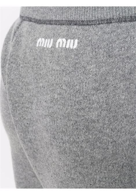 Grey pants MIU MIU | MMP1641ZDJF0031