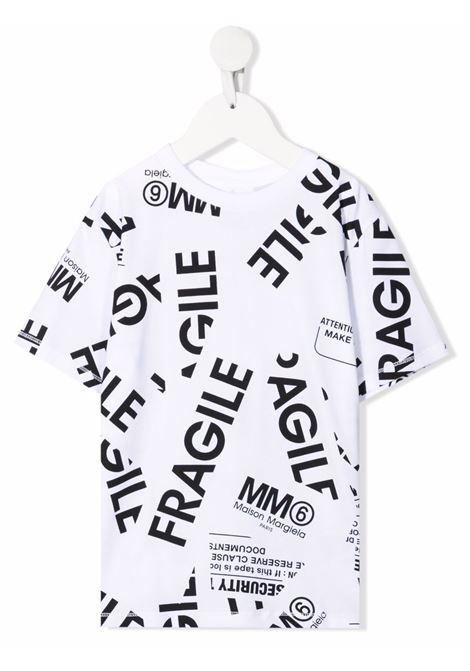 T-shirt MM6 MAISON MARGIELA KIDS   M60040MM012M6100