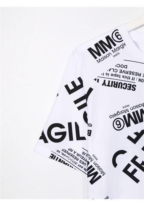 T-shirt MM6 MAISON MARGIELA KIDS   M60040MM012TM6100