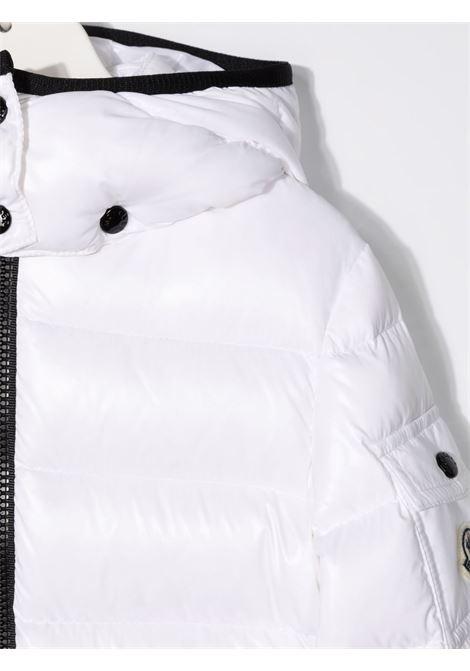 Giubbotto bianco MONCLER ENFANT | GIUBBOTTI | 1A5271068950032