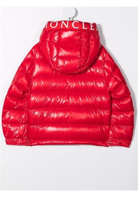 Piumino rosso MONCLER ENFANT   PIUMINI   1A52H2068950455