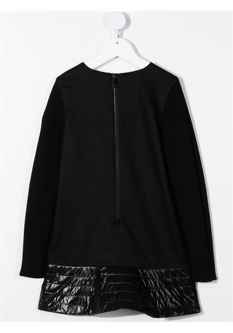 Black dress MONCLER ENFANT | 2G7071054272999
