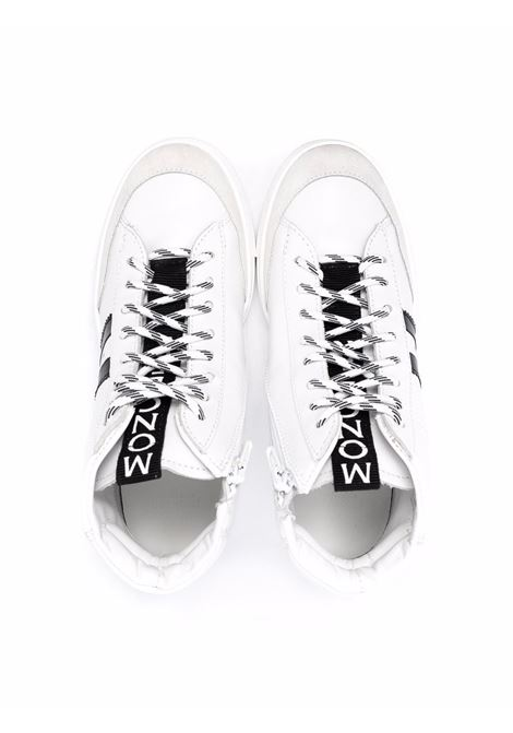 Black/white sneakers MONCLER ENFANT | 4M7150002SZF003
