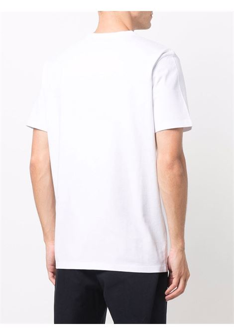 T-shirt bianca MONCLER | T-SHIRT | 8C000228390T001